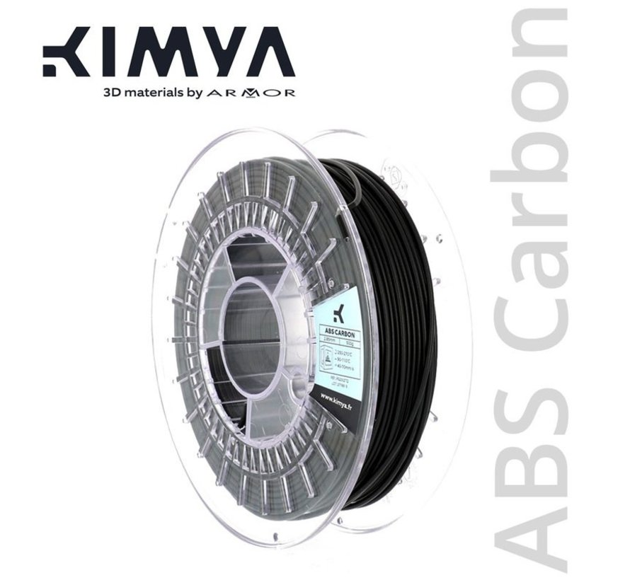 Kimya ABS Carbon Filament - 500 g - Zwart