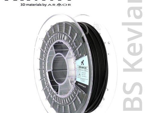 Kimya Kimya ABS Kevlar Filament - 500 g - Zwart