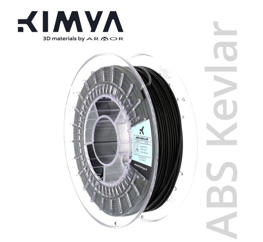 Kimya ABS Kevlar Filament - 500 g - Zwart