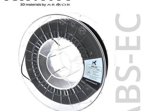 Kimya Kimya ABS-EC Filament - 500 g - Zwart