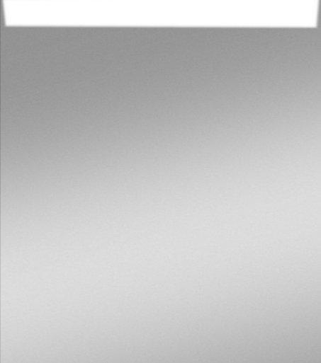 Zalena LED-Lichtspiegel Wega Mini ist mit sandgestrahlten Lichtausschnitten 35 x 45 cm [A+]