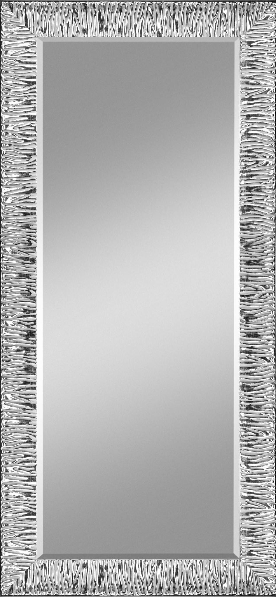 Zalena Rahmenspiegel Perino mit Zebra-Optik