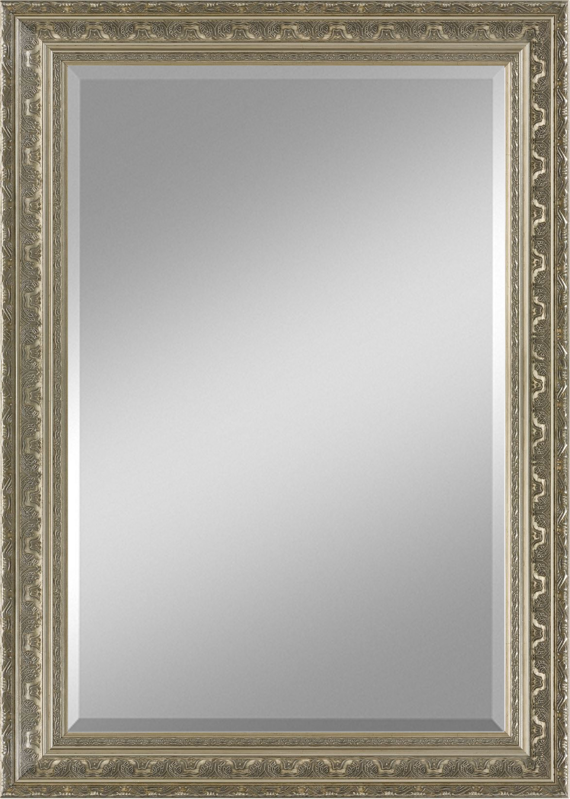 Zalena Rahmenspiegel Gulliver mit edlem Muster