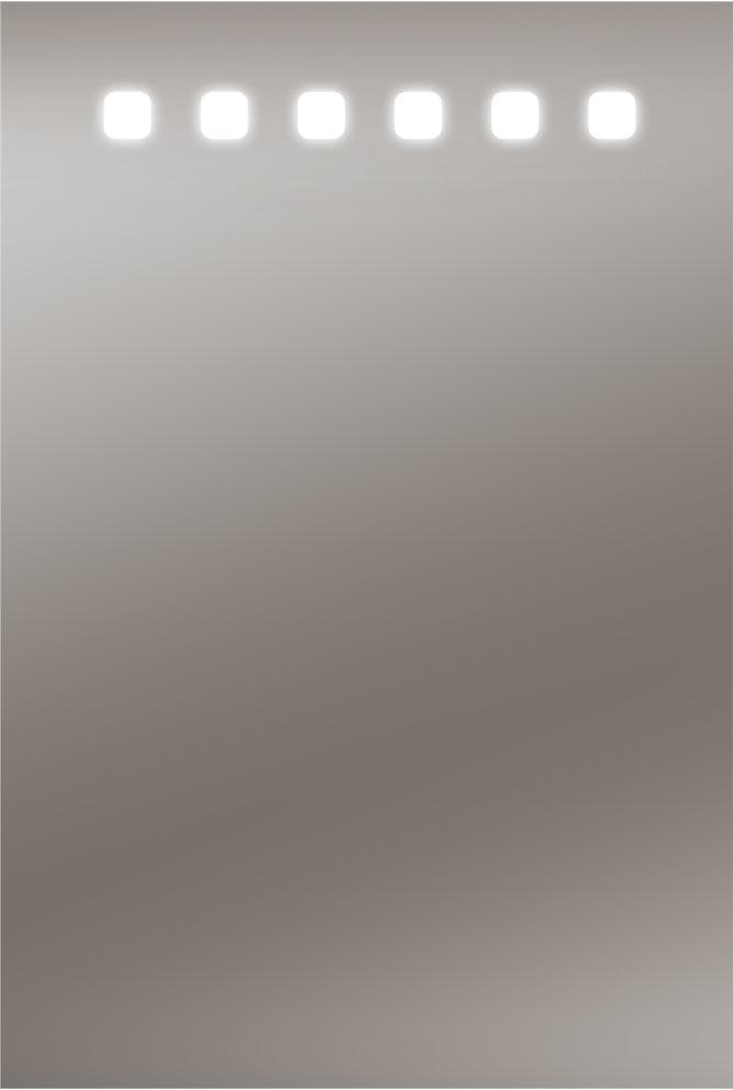Zalena LED-Lichtspiegel Barbossa mit sandgestrahltem Licht