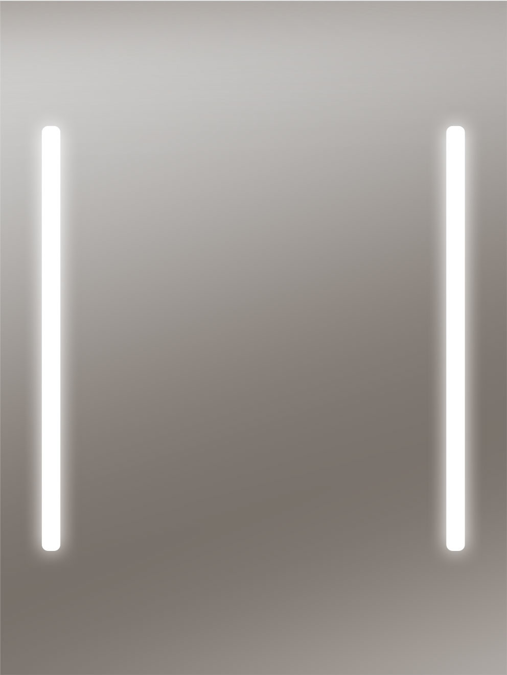 Zalena Bluetooth-Lichtspiegel Akursia mit befestigten Stereolautsprechern