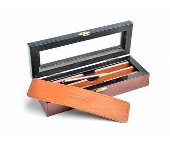 Thiers-Issard luxe doos voor 2 open scheermessen