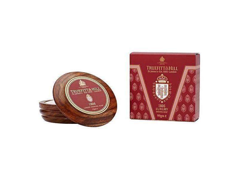 Truefitt & Hill 1805 scheerzeep in mooie houten kom