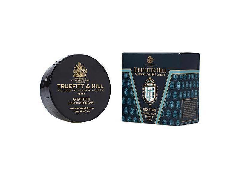Truefitt & Hill Grafton scheercreme in mooie zwarte kom