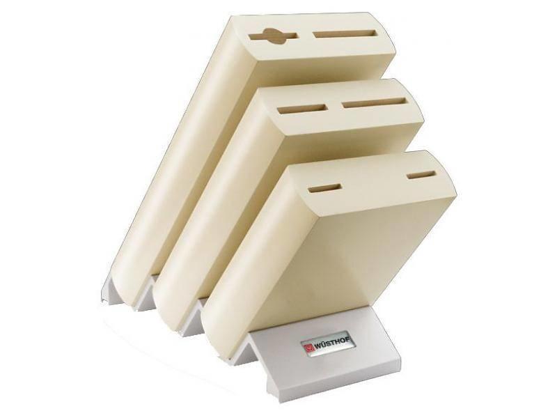 Wusthof Classic Ikon Wit - messenblok voor 6 messen