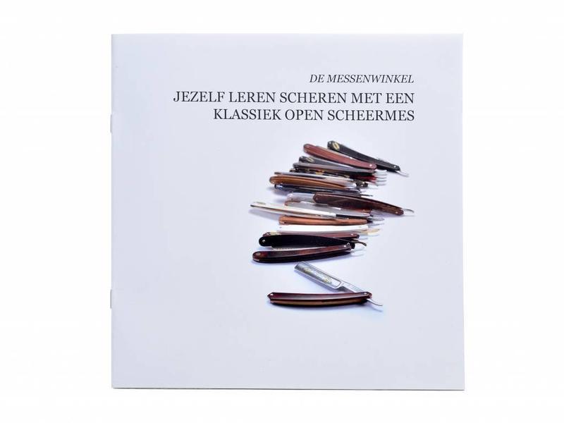 Beginnerspakket open scheermes - ebbenhout bismarck 6/8