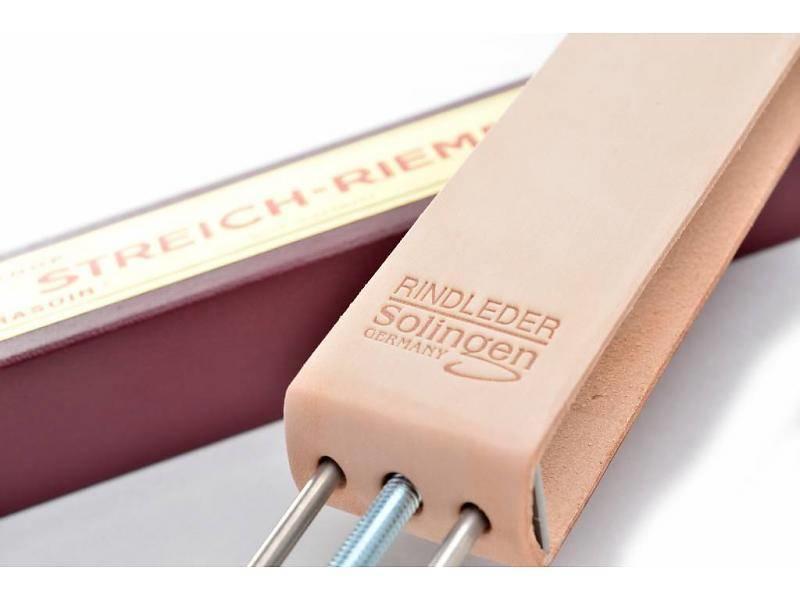 Compleet beginnerspakket open scheermes - cellidur zwart 5/8