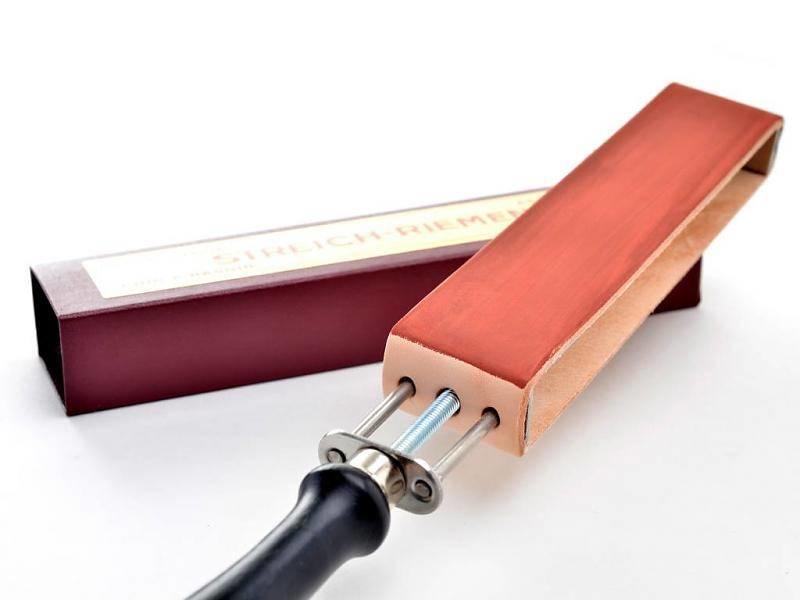 Compleet beginnerspakket open scheermes - violet wood 5/8