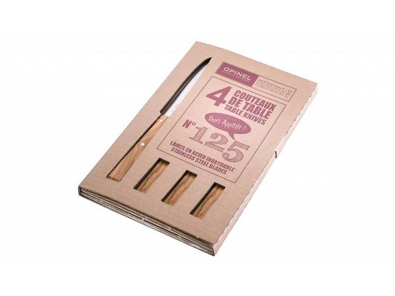 Opinel Tafelmessen met houten heft...