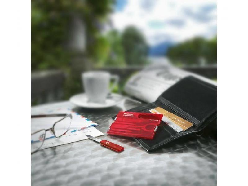 VICTORINOX SwissCard Rood