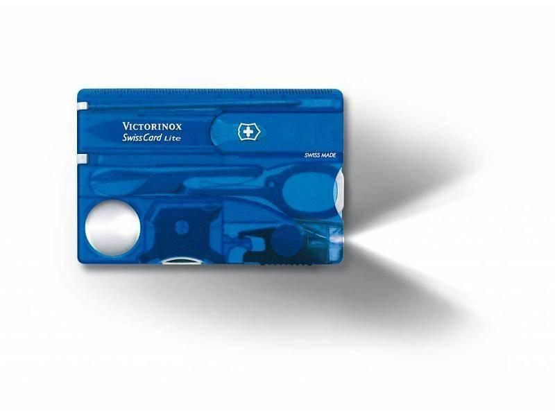 VICTORINOX SwissCard Lite Blauw