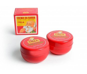 Cella aanbieding|Crema da Barba 2 potten