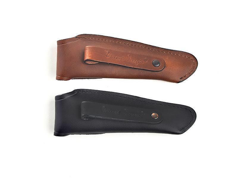 Laguiole en Aubrac Lederen tasje voor Laguiole messen van 12cm