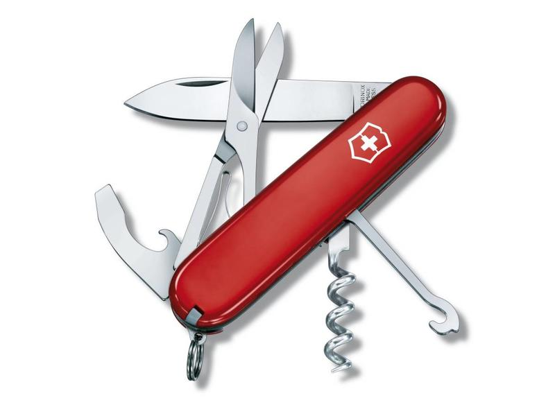 VICTORINOX Compact rood