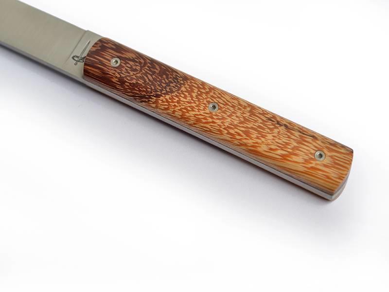 Perceval 6 steakmessen in verschillende houtsoorten