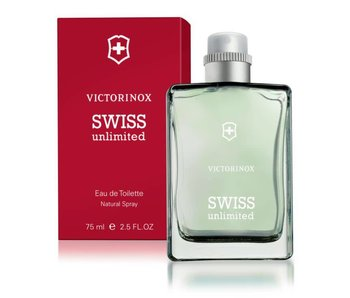 VICTORINOX Swiss Unlimited Red Eau de Toilette 75 ml.