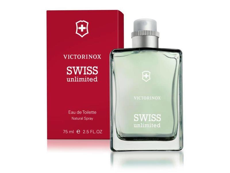 VICTORINOX Swiss Unlimited Red Eau de Toilette 75 ml.
