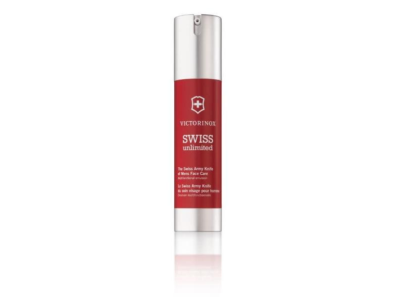 VICTORINOX Swiss Unlimited Red Mens Face Care Emulsion