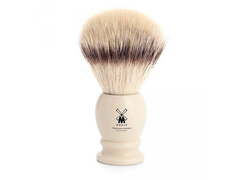 Muhle silvertip fibrescheerkwast XL wit