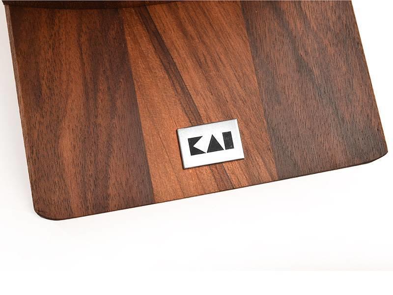 Kai messenblok in walnoothout voor 8 messen DM 0810