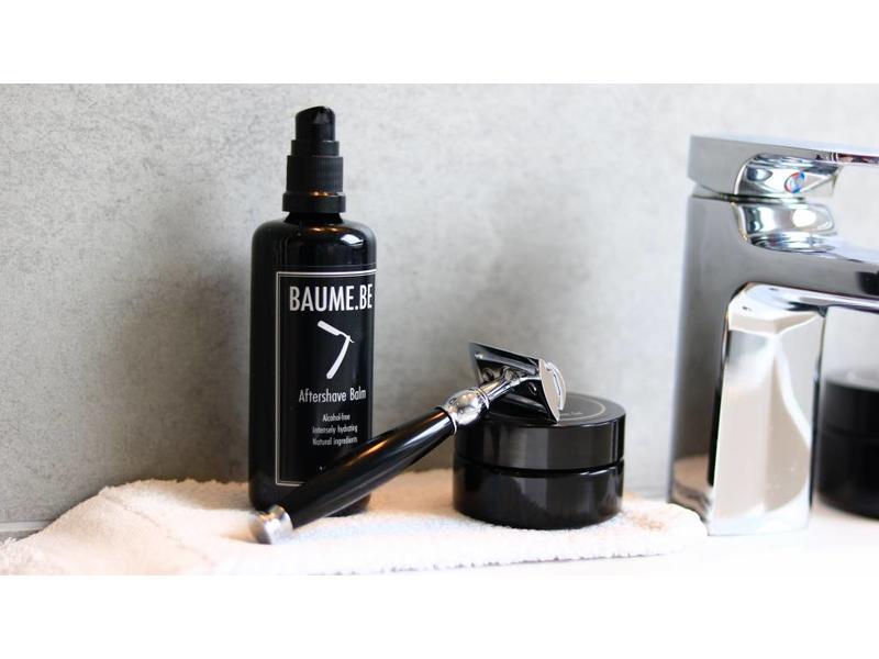 Muhle safety razor SOPHIST scheerapparaat zwart edelhars