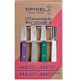Opinel Les Essentiels du Cuisinier in verschillende kleuren ('Art Deco')