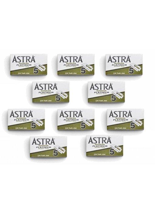 Astra 10 safety razor doosjes