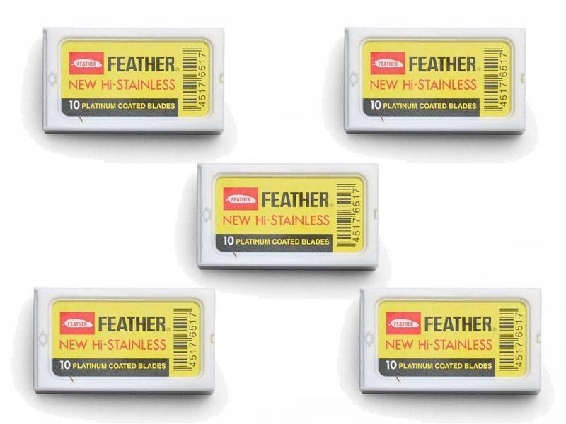 Feather 5 safety razor doosjes