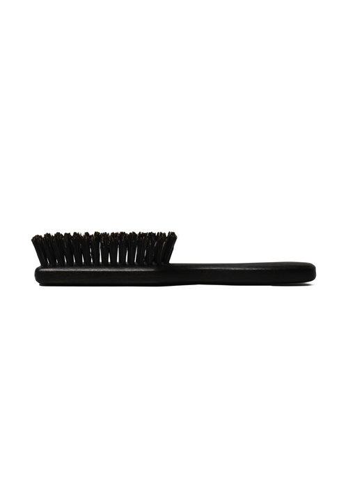Keller baardborstel met zwart handvat en zwijnenhaar