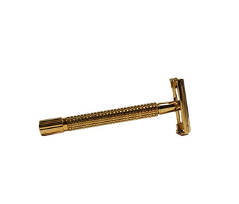 Timor safety razor Gold plated Butterfly