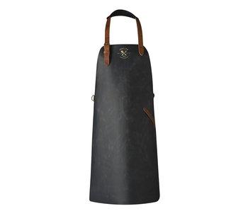 Crafted schort vintage zwart leder