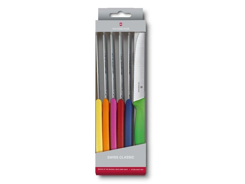 VICTORINOX 6 kartelmesjes (multicolor)