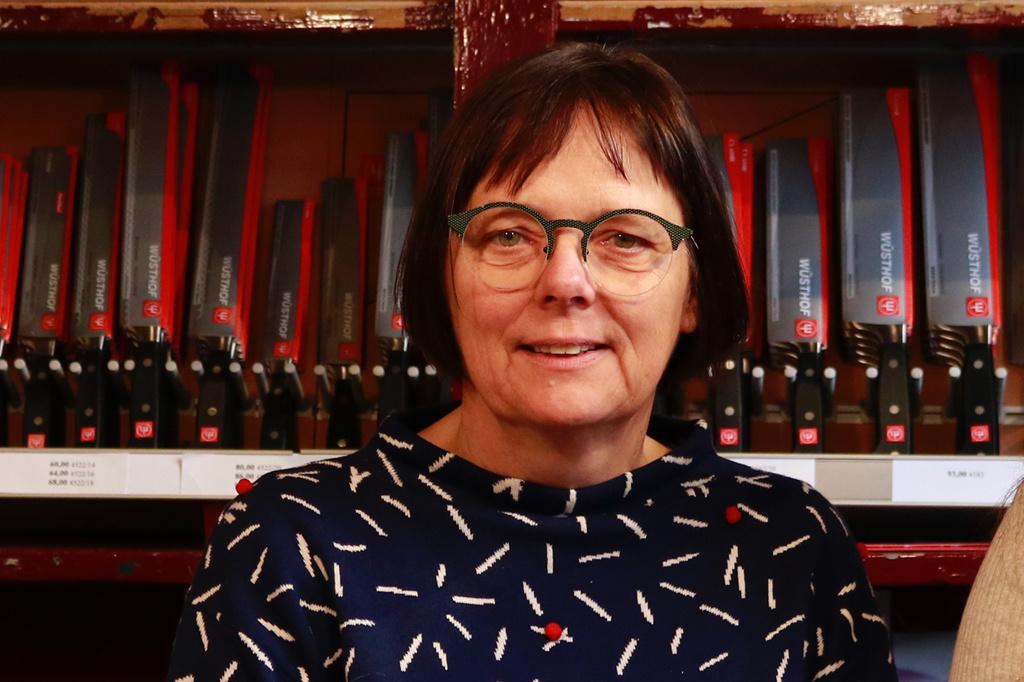 De Messenwinkel favorieten: zaakvoerster Ingeborg