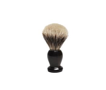 Gentleman Barbier silvertip kwast in ebbenhout nr. 12