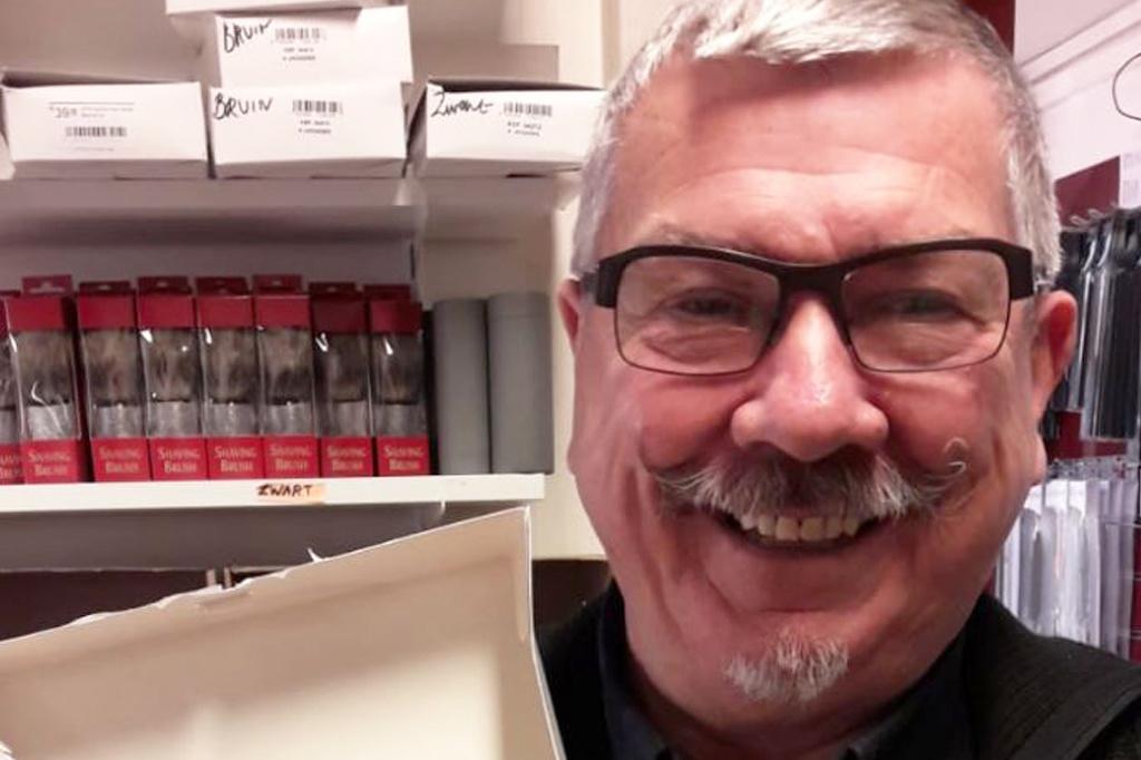 De Messenwinkel favorieten: verkoper Georges