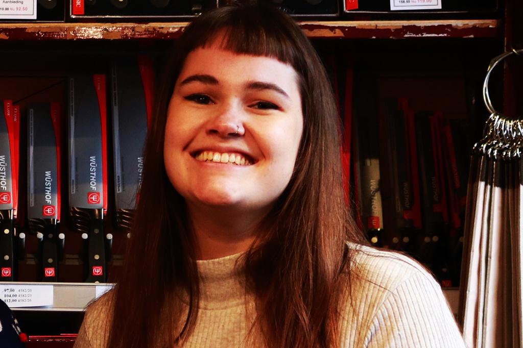 De Messenwinkel favorieten: communicatiemedewerker Eline