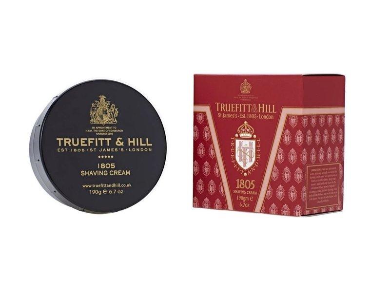 Truefitt & Hill 1805 scheercreme in mooie zwarte kom
