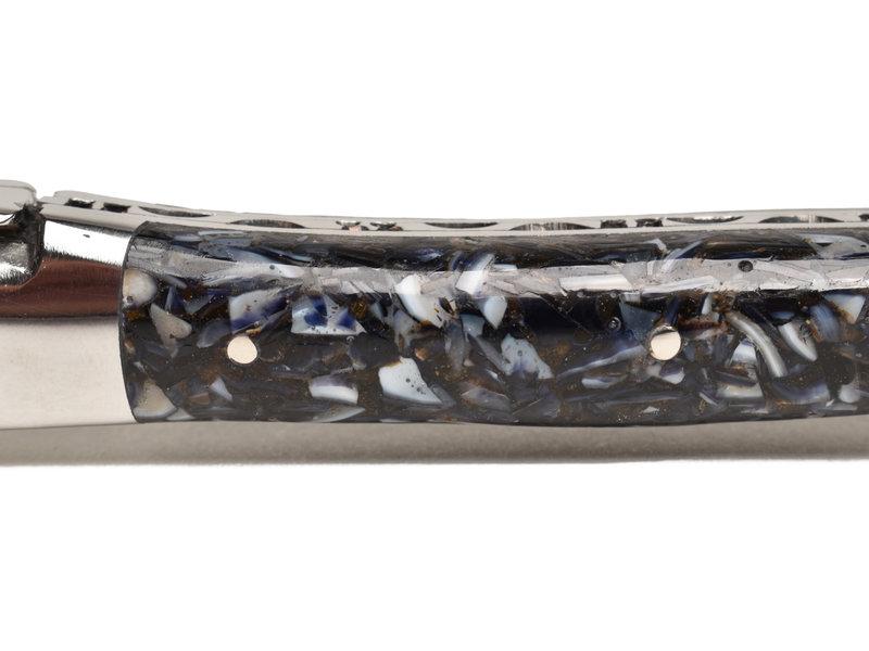 Laguiole en Aubrac oestermes - mosselschelpheft