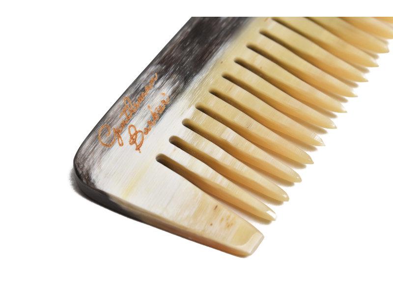 Gentleman Barbier kam hoorn 14.5cm grof en fijne tanden