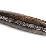 Laguiole en Aubrac 12 cm Os de mammouth - platines guilloché - brillant