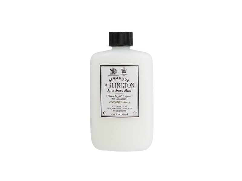 D.R.Harris Arlington aftershave milk - plastic verpakking