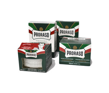 Proraso complete set scheerproducten voor mannen