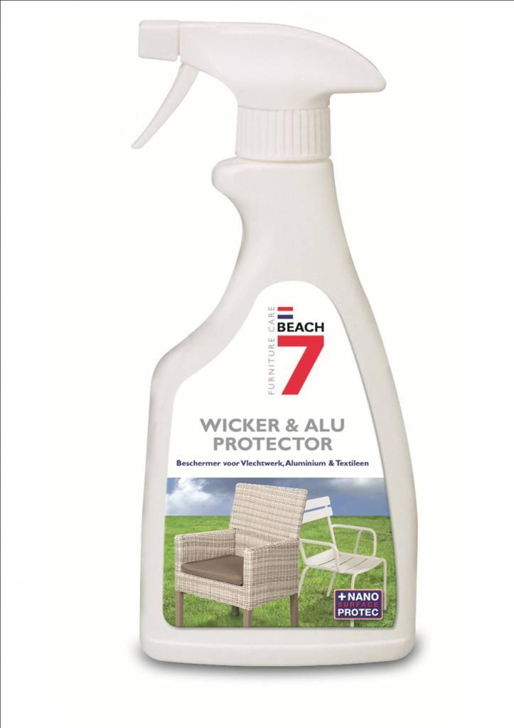 Wicker & Aluminium protector