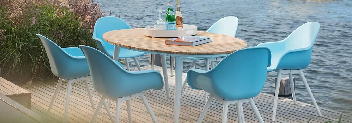 Beach7 'Chamonix' diningset