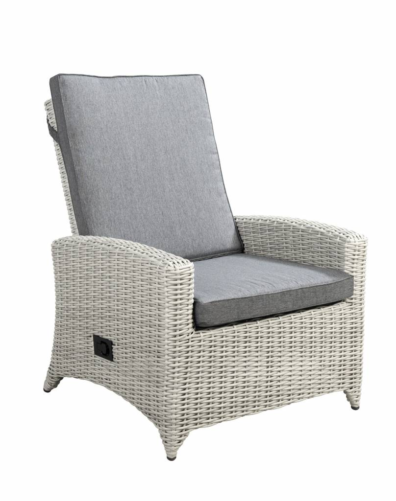 Adelaide verstelbare loungestoel - vlechtwerk