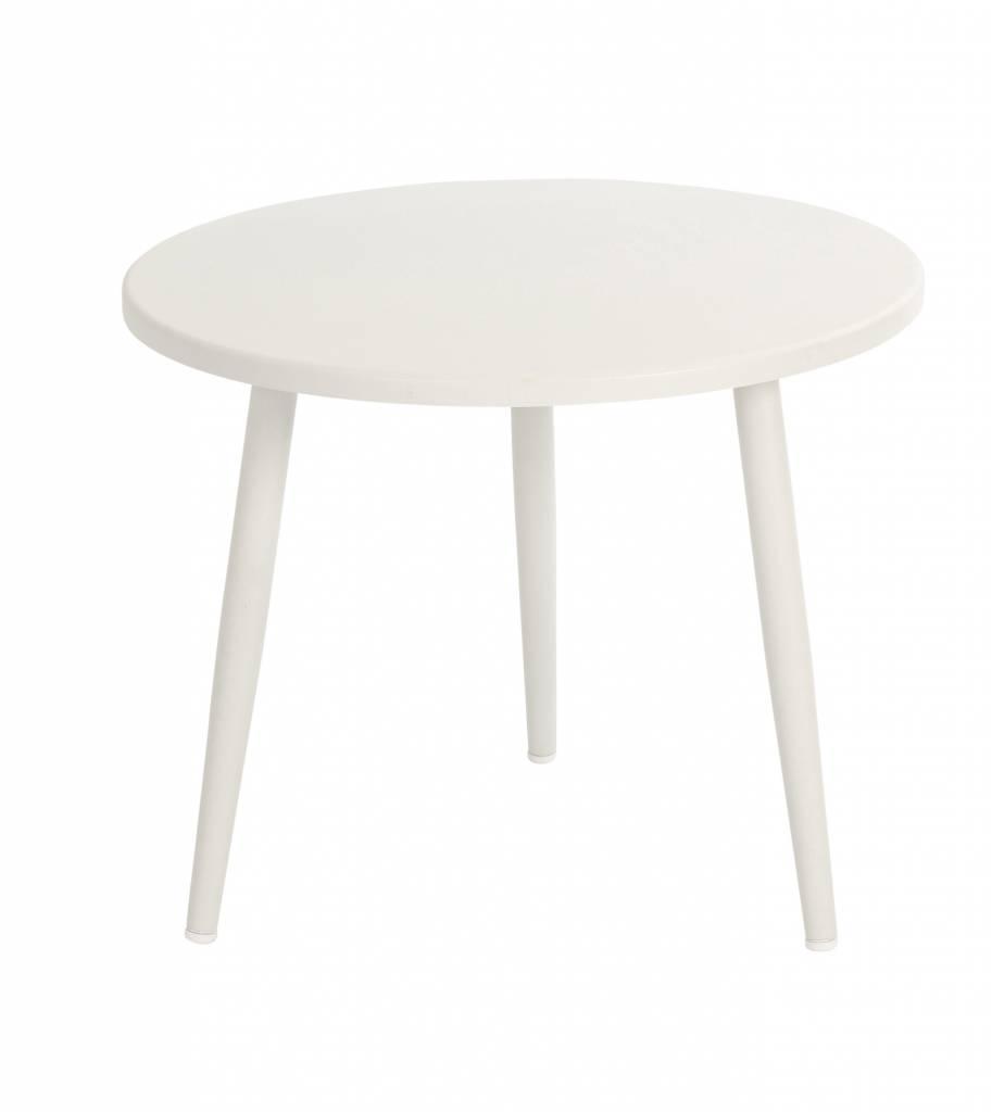 Coppa lounge tafels  55cm aluminium